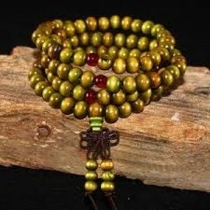 Natural Sandalwood Meditation Beads